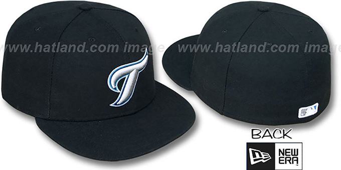 Blue Jays '2012 PERFORMANCE ALTERNATE' Hat by New Era : pictured without stickers that these products are shipped with
