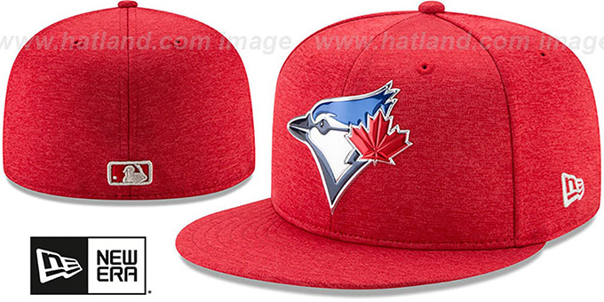 Blue Jays  2017 JULY 4TH STARS N STRIPES  Fitted Hat by ... 316aa968872