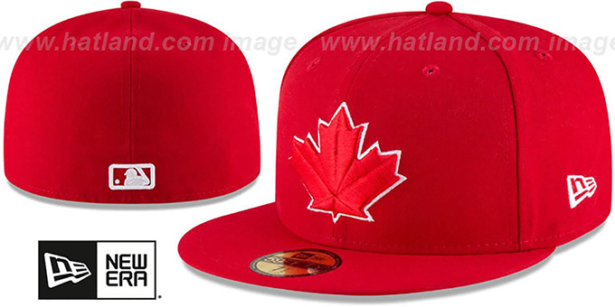 1b998bee051 Toronto Blue Jays AC-ONFIELD ALTERNATE-2 Hat by New Era