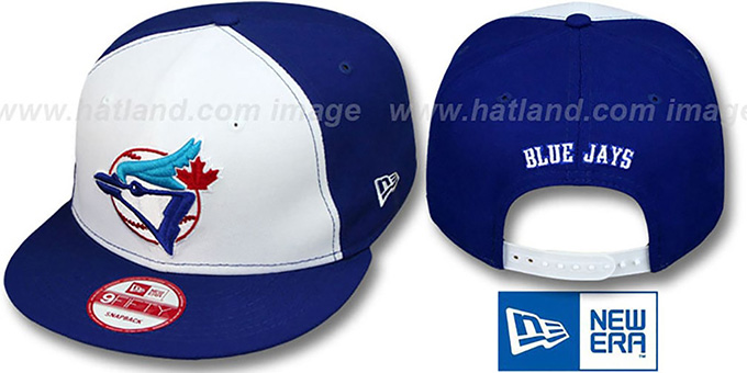 Blue Jays 'REPLICA ALTERNATE-2 SNAPBACK' Hat by New Era : pictured without stickers that these products are shipped with