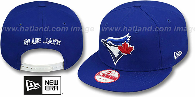 Blue Jays 'REPLICA GAME SNAPBACK' Hat by New Era : pictured without stickers that these products are shipped with