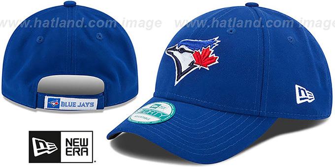 Blue Jays  THE-LEAGUE GAME STRAPBACK  Royal Hat by New Era 7ec57150ef60