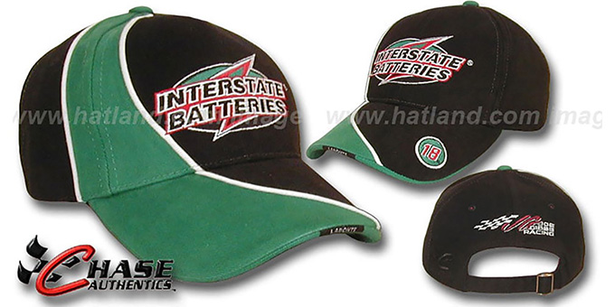 Bobby Labonte 'PIT' Hat by Chase : pictured without stickers that these products are shipped with
