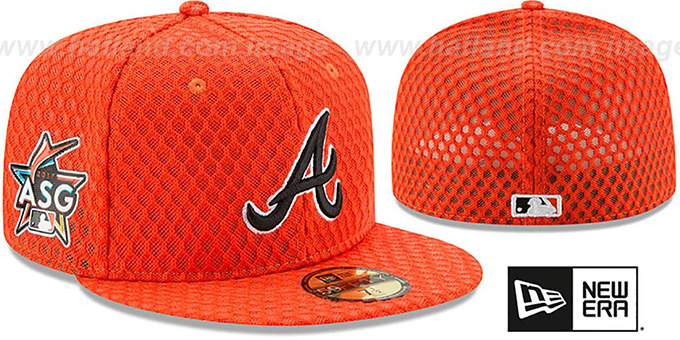 newest collection 54bb4 7cd57 ... low cost braves 2017 mlb home run derby orange fitted hat by new era  5ab37 4f9f8
