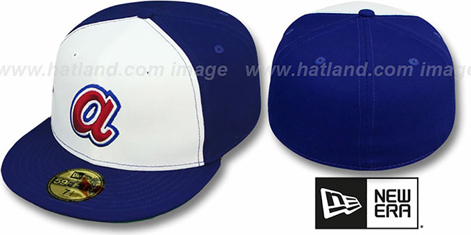 Braves 'AARON' Hat by New Era : pictured without stickers that these products are shipped with