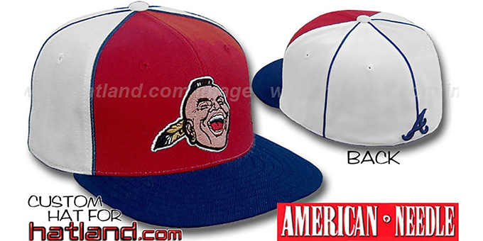 Braves Cooperstown 'BACKTRAX' Hat by Amercan Needle : pictured without stickers that these products are shipped with