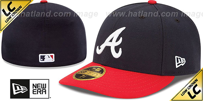 lowest price e3dc1 f6d27 Braves  2017 LOW-CROWN ONFIELD HOME  Fitted Hat by New Era