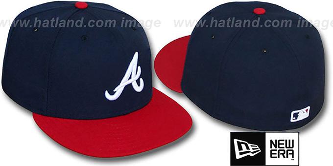 e742ba7deaa Atlanta Braves PERFORMANCE HOME Hat by New Era. Braves  PERFORMANCE HOME   Hat by ...
