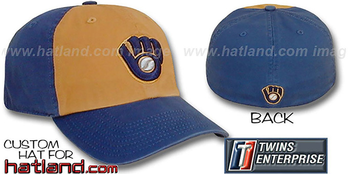 Brewers COOP 'FRANCHISE' Hat by Twins : pictured without stickers that these products are shipped with
