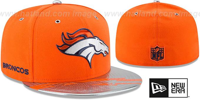 1cbe2c850cd Denver Broncos 2017 SPOTLIGHT Fitted Hat by New Era