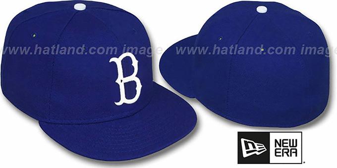 1955 brooklyn dodgers cap baseball fitted era