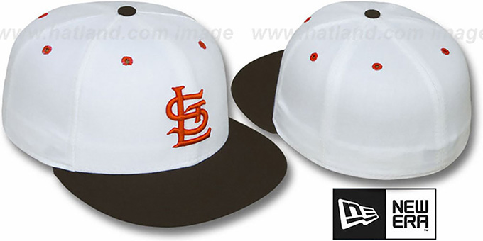 Browns 1927 'COOP' Fitted Hat by New Era : pictured without stickers that these products are shipped with