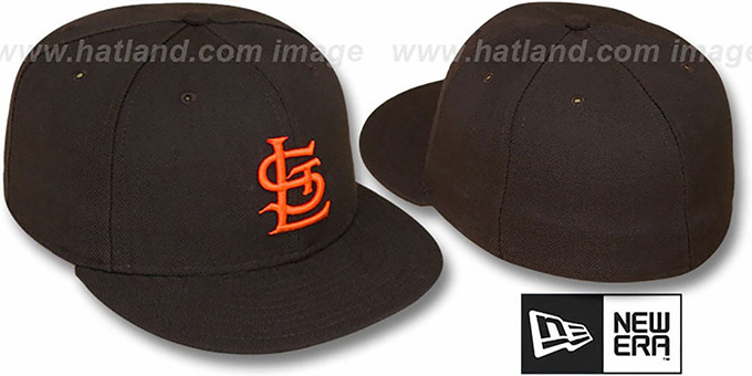 1f7a8cfe89971 St Louis Browns 1934 COOP Fitted Hat by New Era. Browns 1934  COOP  Fitted  Hat by ...