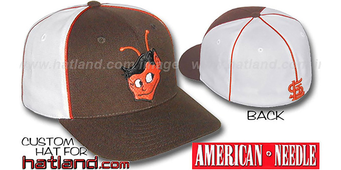 Browns Cooperstown 'BACKTRAX' Hat by Amercan Needle : pictured without stickers that these products are shipped with
