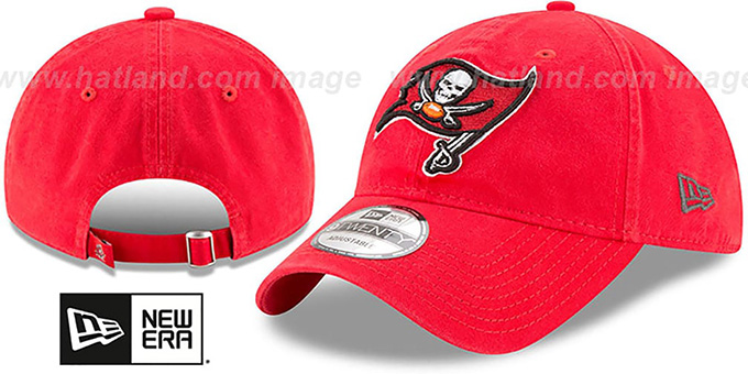 Buccaneers 'CORE-CLASSIC STRAPBACK' Red Hat by New Era