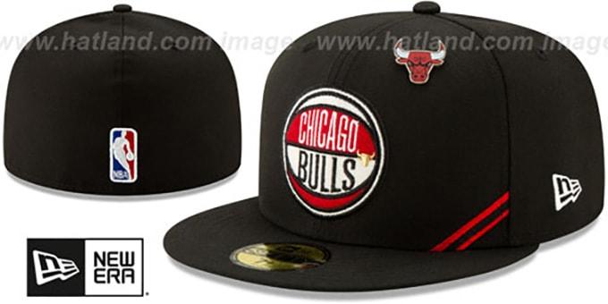 05d90b69 Chicago Bulls 2019 NBA DRAFT Black Fitted Hat by New Era