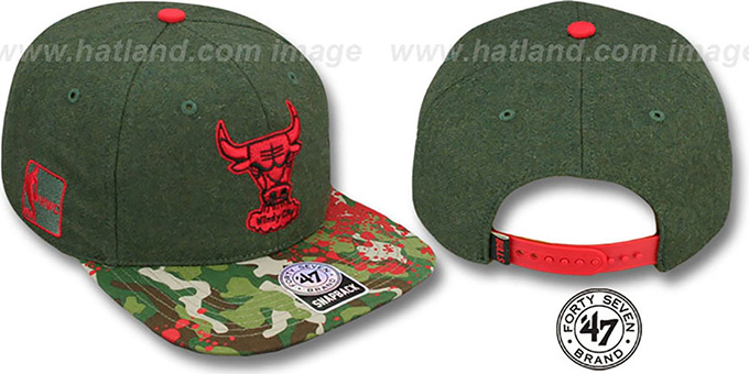 Bulls 'COLONEL POTTER' Adjustable Hat by Twins 47 Brand : pictured without stickers that these products are shipped with