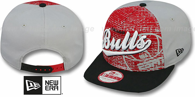 4505468d Chicago Bulls ESPN BRICK A-FRAME SNAPBACK Hat by New Era