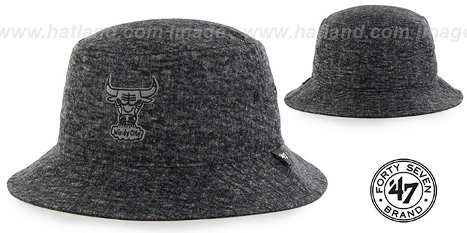 Bulls LEDGEBROOK BUCKET Black Hat by Twins 47 Brand a0c7077cb227