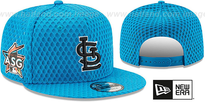 St Louis Cardinals 2017 MLB HOME RUN DERBY SNAPBACK Blue Hat 84141bb3f32