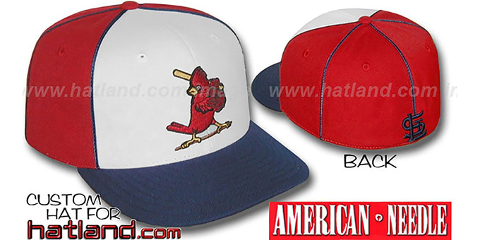 Cardinals COOPERSTOWN 'BACKTRAX' Hat by American Needle : pictured without stickers that these products are shipped with