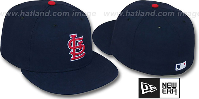 Cardinals 'PERFORMANCE ALT1' Hat by New Era : pictured without stickers that these products are shipped with