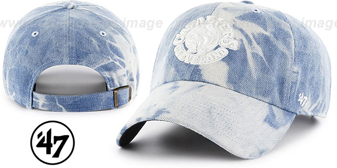 Cavaliers 'ACID WASH STRAPBACK' Hat by Twins 47 Brand