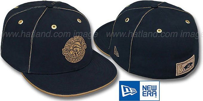 Cavaliers 'HW NAVY DaBu' Fitted Hat by New Era : pictured without stickers that these products are shipped with