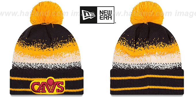 79ff1631712da9 Cleveland Cavaliers SPEC-BLEND Knit Beanie Hat by New Era. sale hat! video  available. Cavaliers 'SPEC-BLEND' Knit Beanie Hat by ...
