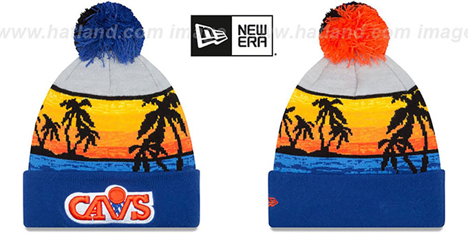 Cleveland Cavaliers WINTER BEACHIN Knit Beanie Hat b23fe8c4c50