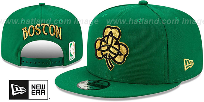 Celtics 19-20 'CITY-SERIES' ALTERNATE SNAPBACK Green Hat by New Era