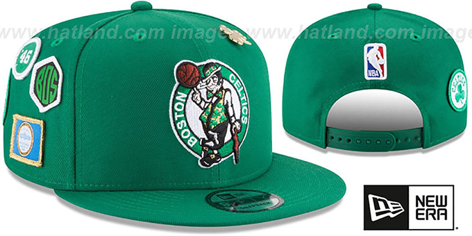 a3bcb4c7 Boston Celtics 2018 NBA DRAFT SNAPBACK Green Hat by New Era