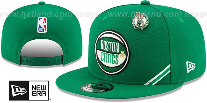 676fae9f Boston Celtics 2019 NBA DRAFT SNAPBACK Green Hat by New Era