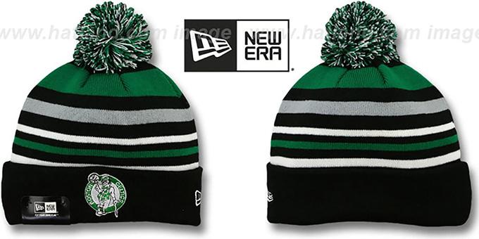 ... czech celtics stripeout knit beanie hat by ab92b 63578 ... c1ccc6d8f20d