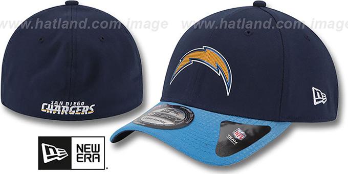 d1dcd56316e San Diego Chargers 2015 NFL DRAFT FLEX Hat by New Era
