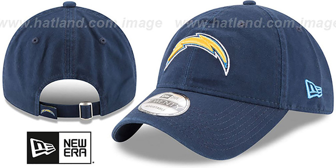 1f803a58 Los Angeles Chargers CORE-CLASSIC STRAPBACK Navy Hat by New Era