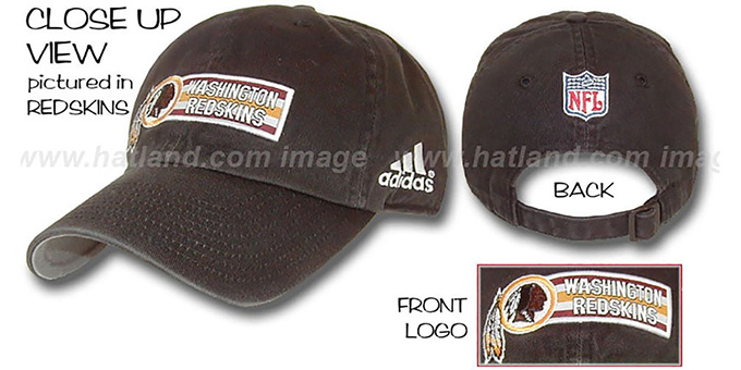 Chargers 'EXEMPTION' Hat by adidas : pictured without stickers that these products are shipped with