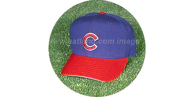 Chicago Cubs 'ROAD' Hat : pictured without stickers that these products are shipped with