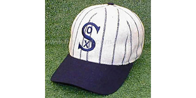 Chicago White Sox 1917-18 'COOP' Hat : pictured without stickers that these products are shipped with