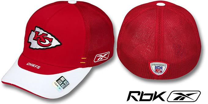937daa5ba749ac Kansas City Chiefs 2007 DRAFT-DAY FLEX Hat by Reebok