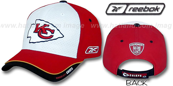 Chiefs 'TRAINING CAMP' Hat by Reebok : pictured without stickers that these products are shipped with