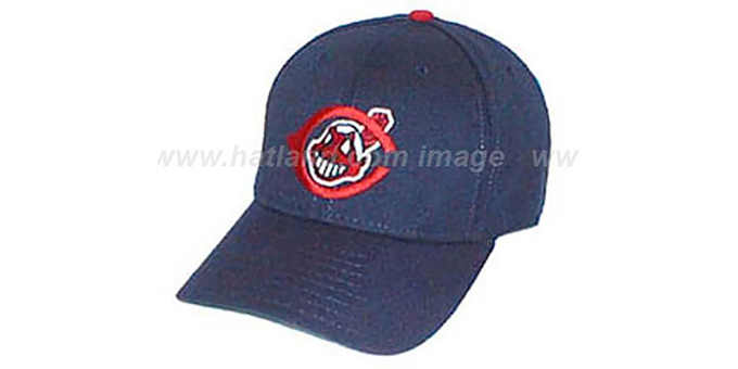 Cleveland Indians 1951-57 'COOP' Hat : pictured without stickers that these products are shipped with