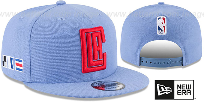 Clippers 'CITY-SERIES SNAPBACK' Sky Hat by New Era
