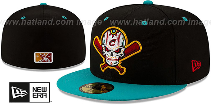Clippers 'COPA' Black-Teal Fitted Hat by New Era