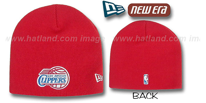 Clippers 'TOQUE' Knit Hat by New Era : pictured without stickers that these products are shipped with