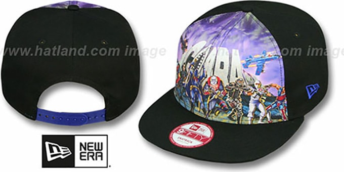 Cobra 'SUB FRONT SNAPBACK' Adjustable Hat by New Era : pictured without stickers that these products are shipped with