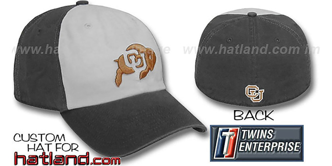 Colorado RETRO 'FRANCHISE' Hat by Twins : pictured without stickers that these products are shipped with