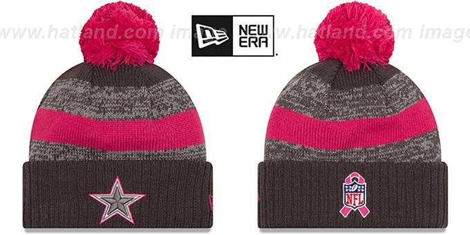 173784562d156 Cowboys  2016 BCA STADIUM  Knit Beanie Hat by New Era