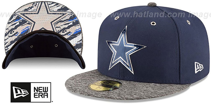 4c8fa10ca2f Dallas Cowboys 2016 NFL DRAFT Fitted Hat by New Era