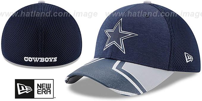 Dallas Cowboys 2017 NFL ONSTAGE FLEX Hat by New Era 0a29b4e0a21d